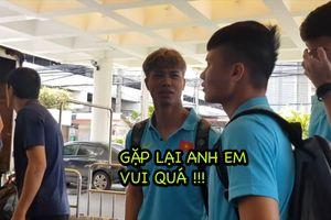 Công Phượng hội ngộ đội tuyển Việt Nam tại Thái Lan để chuẩn bị cho King's Cup