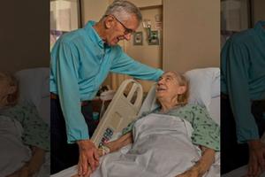 Cụ ông 84 tuổi hiến cho hàng xóm 1 quả thận