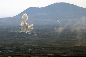 Israel vừa 'bắn rụng' 2 quả tên lửa Syria phóng từ cao nguyên Golan