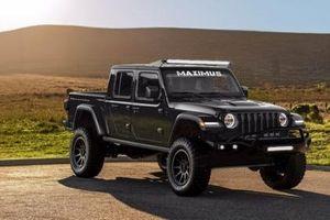 Bán tải Jeep Gladiator Rubicon mạnh 1000 mã lực gói độ 'Hennessey Maximus 1000'