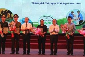 Thủ tướng gửi thư biểu dương Thừa Thiên - Huế về phong trào 'ngày Chủ Nhật xanh'