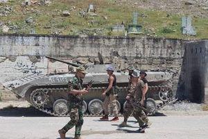 Quân đội Syria chặn đứng cuộc tiến công của phe nổi dậy ở bắc Hama
