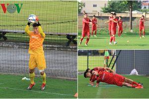 Bùi Tiến Dũng trổ tài, U23 Việt Nam miệt mài luyện tập chờ đấu Myanmar