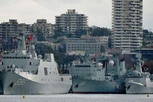 Loạt tàu chiến Trung Quốc gây sửng sốt tại Australia: Loạt đồn đoán về duyên cớ?