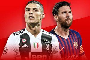 Ronaldo và Messi cùng góp mặt ở đội bóng ưu tú nhất Champions League
