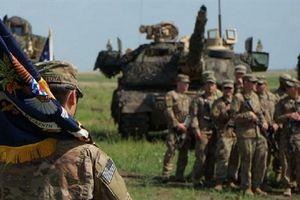 Phiên bản bí ẩn của tăng Abrams đến Romania tập trận