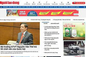 Mời bạn đọc góp ý giao diện mới báo Người Lao Động điện tử