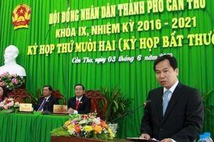 Ông Lê Quang Mạnh đắc cử chức danh Chủ tịch UBND TP. Cần Thơ