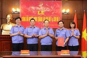 Thành lập Chi bộ 2 thuộc Đảng bộ Báo Bảo vệ pháp luật