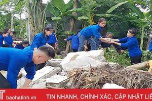 10.000 ĐVTN Hà Tĩnh hưởng ứng chiến dịch thanh niên tình nguyện hè