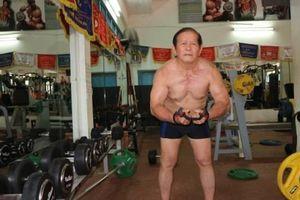An Giang: Cụ ông 84 tuổi vẫn chăm tập gym mỗi ngày