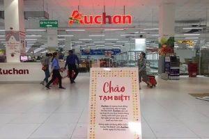 Auchan chính thức dừng hoạt động 15 siêu thị tại Việt Nam từ hôm nay