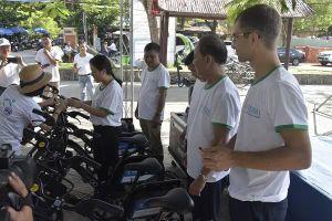 Xe đạp công cộng ở Hội An: Định vị GPS, mở khóa bằng mã QR
