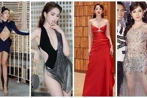 Ngoài bộ cánh như bikini của Ngọc Trinh, show Đỗ Long còn hội tụ những pha lên đồ thảm họa và táo bạo hơn thế