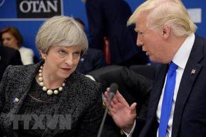 Tổng thống Mỹ Donald Trump bắt đầu chuyến thăm Anh trong 3 ngày