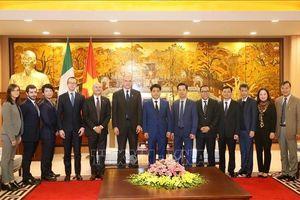 Hội nghị 'Đối thoại cấp cao về quan hệ kinh tế ASEAN-Italia'