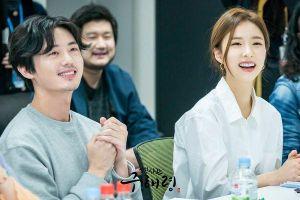 Shin Se Kyung - Cha Eun Woo xinh như hoa tại buổi đọc kịch bản phim 'Rookie Historian Goo Hae Ryung'