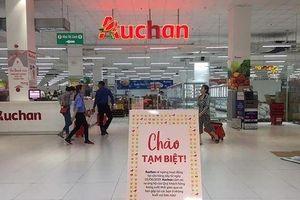 Auchan Việt Nam chính thức đóng cửa 15 tại Việt Nam