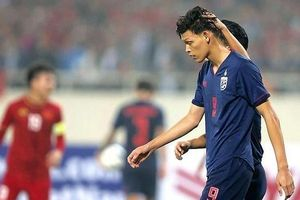 Tiền đạo Thái Lan vẫn bị ám ảnh bởi trận thua kỷ lục trước Việt Nam