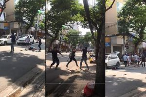 TP.HCM: 'Loạn đả', 1 thanh niên bị thương nặng