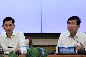 Chủ tịch UBND TP HCM chỉ đạo 'nóng' nhiều đầu việc
