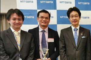 PAYOO nhận giải thưởng của tập đoàn NTT DATA