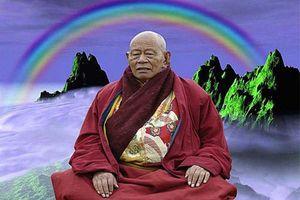 Giật mình bằng chứng viên tịch hóa cầu vồng của thiền sư Tây Tạng