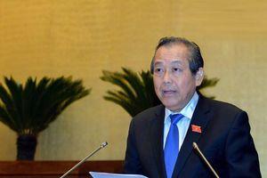 Phó Thủ tướng Trương Hòa Bình nêu giải pháp phòng chống sai phạm thi cử