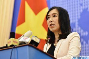 Bộ Ngoại giao lên tiếng về phát biểu của Thủ tướng Singapore Lý Hiển Long tại Đối thoại Shangri-la 2019