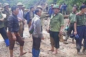 Điện Biên: Hai mẹ con bị lũ cuốn mất tích