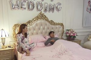 'Về nhà đi con' tập 37, Vũ và Thư cãi nhau vì chuyện ngủ chung giường