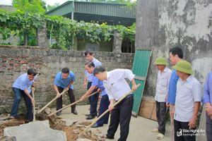 Thị xã Hoàng Mai bắt đầu 'chiến dịch' xóa 126 nhà tạm, nhà dột nát cho người nghèo