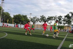 Giao lưu bóng đá thiếu niên Diễn Châu – Đô Lương trước thềm Cúp Báo Nghệ An