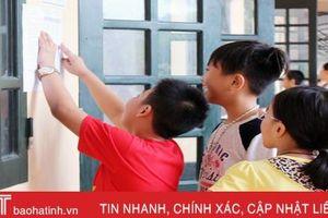 Gần 700 thí sinh thi vào Trường THCS Lê Văn Thiêm