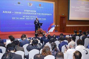 Tiếp tục thúc đẩy quan hệ đối tác chiến lược ASEAN - Nhật Bản