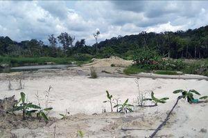 Xác minh hoạt động khai thác quặng trong khu vực rừng do Bộ Chỉ huy Quân sự tỉnh Đắk Nông quản lý
