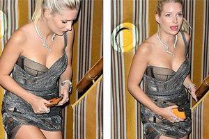 Lottie Moss gợi cảm với váy xuyên thấu