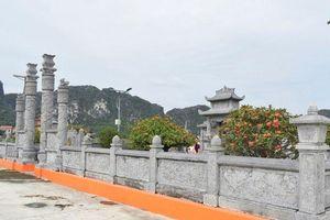 Ninh Bình: Bắt nhóm đối tượng đột nhập lăng mộ trộm cây hoa mẫu đơn 80 triệu đồng