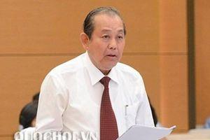 PTT Trương Hòa Bình: Cả xã hội đều thấy sự nguy hiểm của ma men sau tay lái