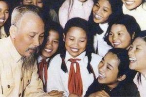 Chủ tịch Hồ Chí Minh: 'Tuổi trẻ là tương lai của đất nước'