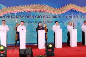 Bạc Liêu khởi công xây dự án nhà máy điện gió trị giá 3.000 tỷ đồng