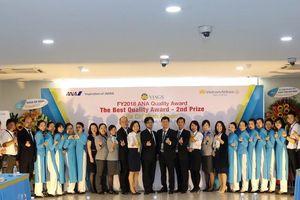 VIAGS nhận giải thưởng chất lượng toàn cầu của All Nippon Airways