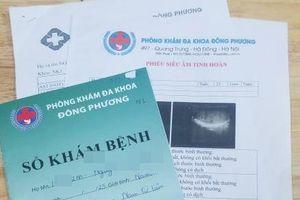 Hà Nội: Mập mờ 'bác sĩ' ở Phòng khám đa khoa Đông Phương?