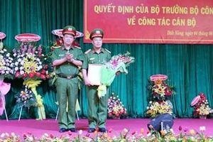 Trại giam Đắk P'Lao công bố quyết định về công tác cán bộ