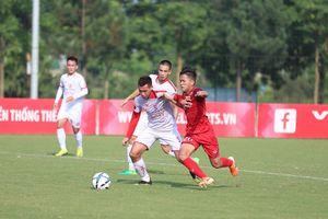 Trực tiếp U23 Việt Nam 0-0 Viettel: U23 Việt Nam bỏ lỡ nhiều cơ hội