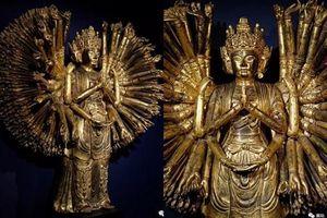 Chiêm ngưỡng tượng Phật Bà Quan Âm nghìn mắt nghìn tay trong bảo tàng ở Pháp