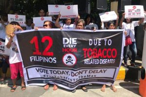 Philippines tăng thuế thuốc lá