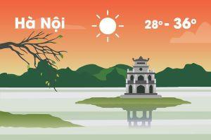Thời tiết ngày 5/6: Miền Bắc nắng nóng diện rộng, miền Nam mưa rào