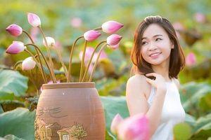 5 địa điểm chụp sen tuyệt đẹp quanh Hà Nội mùa hè này