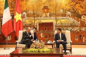 Italia góp phần đưa Hà Nội thành tâm điểm khu vực Đông Nam Á